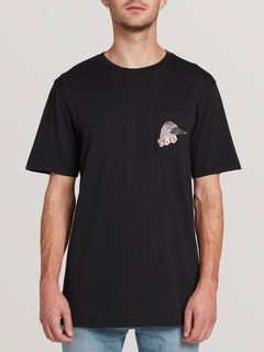 Pangeaseed Ss Pocket Tee - Black (A5031909_BLK) [F]