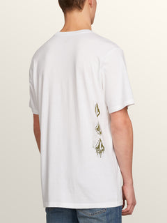 Drippin Out Short Sleeve Tee - White