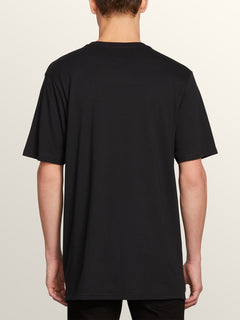 Vpp Lock Short Sleeve Tee In Black, Back View