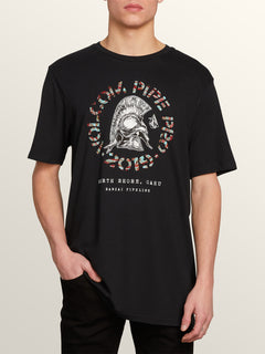 Vpp Lock Short Sleeve Tee In Black, Front View