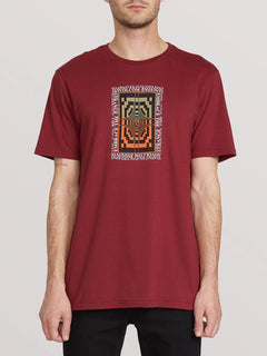 All Ages Short Sleeve Tee - Cabernet (A5041904_CAB) [F]