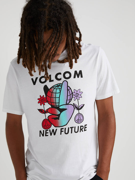 Future Earth Short Sleeve Tee - White (A5041905_WHT) [02]
