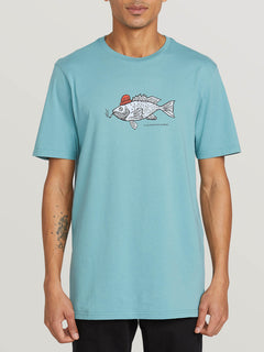 Trout There Short Sleeve Tee - Agave (A5041908_AGV) [F]