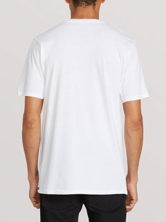 Trout There Short Sleeve Tee - White (A5041908_WHT) [B]