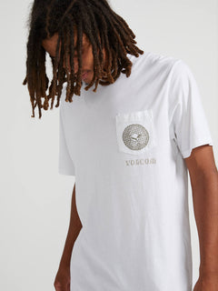 Spun Short Sleeve Pocket Tee - White (A5041910_WHT) [01]