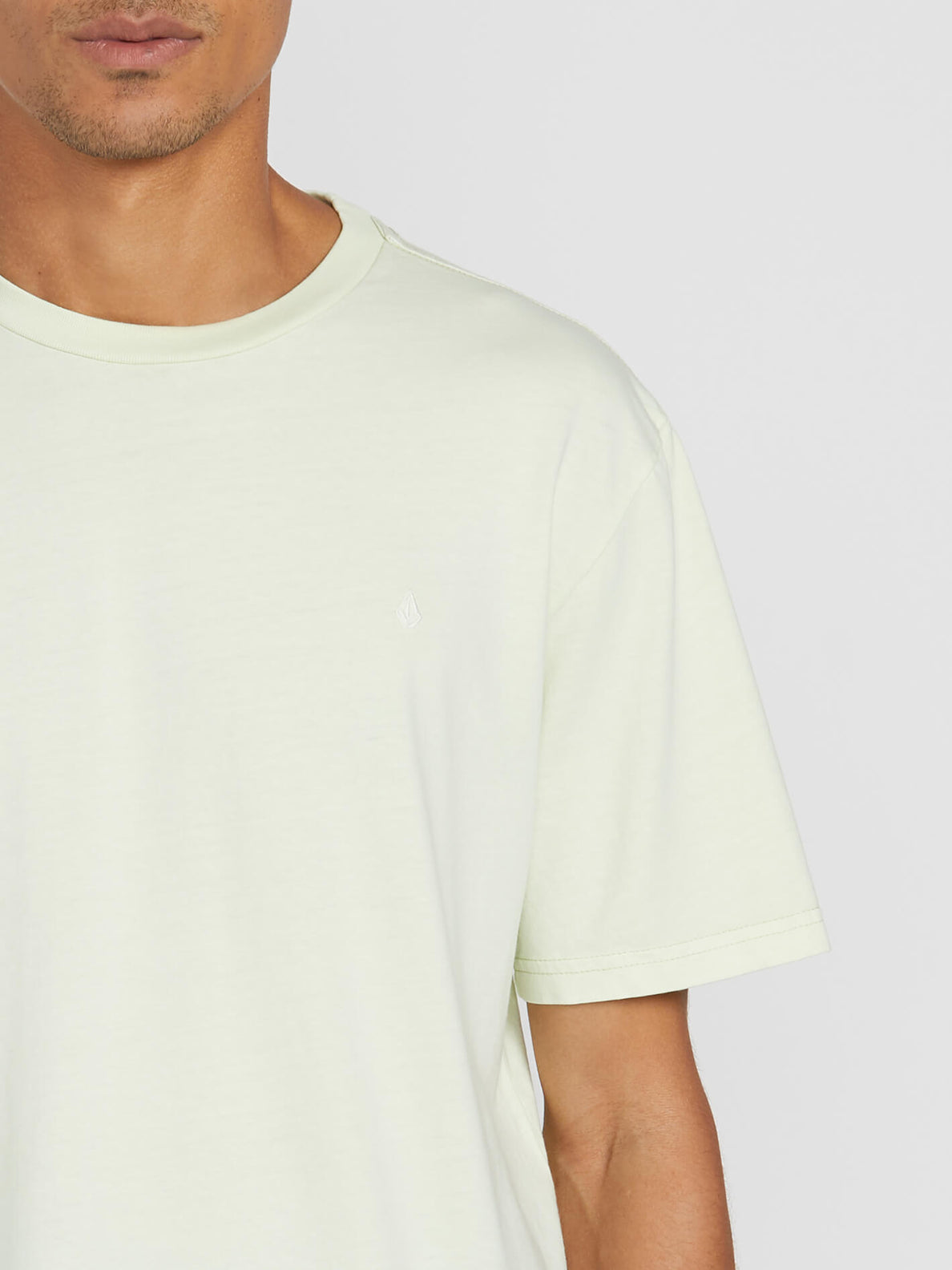 Solid Stone Short Sleeve Emblem Tee - Key Lime (A5211906_KEY) [1]