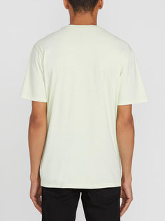 Solid Stone Short Sleeve Emblem Tee - Key Lime (A5211906_KEY) [B]