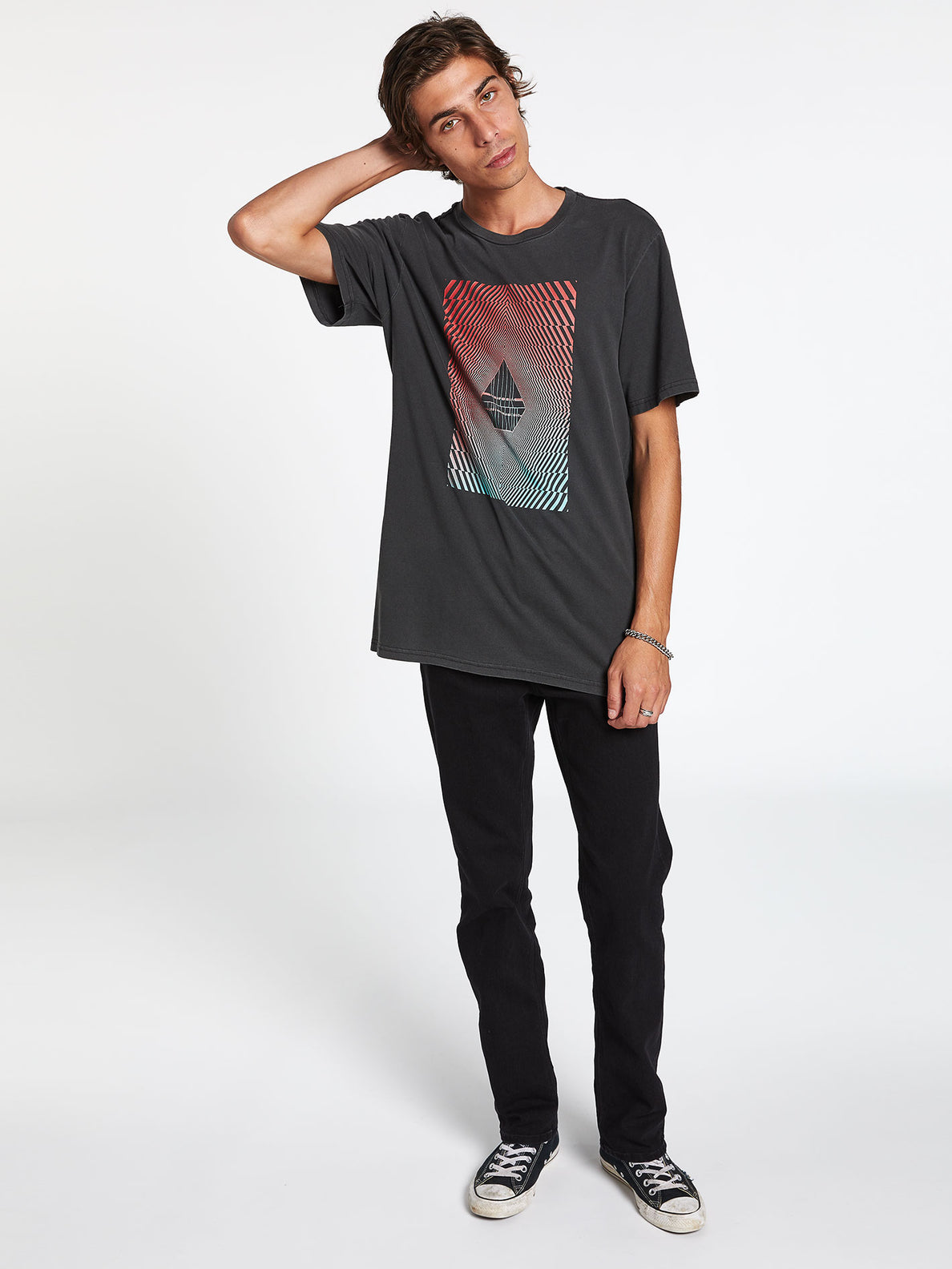 FLOATION S/S TEE (A5212001_BLK) [12]