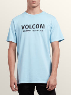 The Stranger Short Sleeve Tee In Arctic Blue, Front View