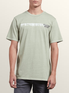 Courtesy Short Sleeve Tee In Sage, Front View