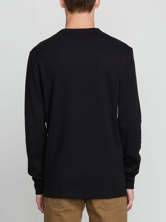 Juan Largo Thermal In Black, Back View