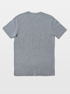 Double Dipper Short Sleeve Tee - Heather Grey