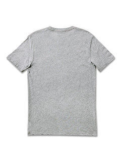 Stone Square Short Sleeve Tee - Heather Grey