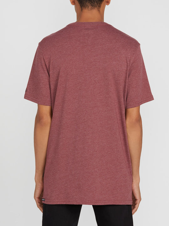 Heather Solid Short Sleeve Tee