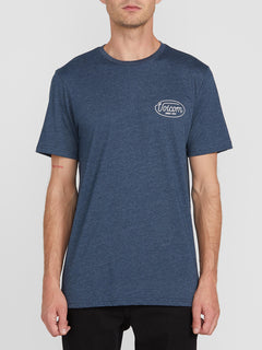 Lit Short Sleeve Tee - Navy