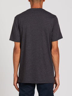 Position Short Sleeve Tee - Heather Black (A5722000_HBK) [B]