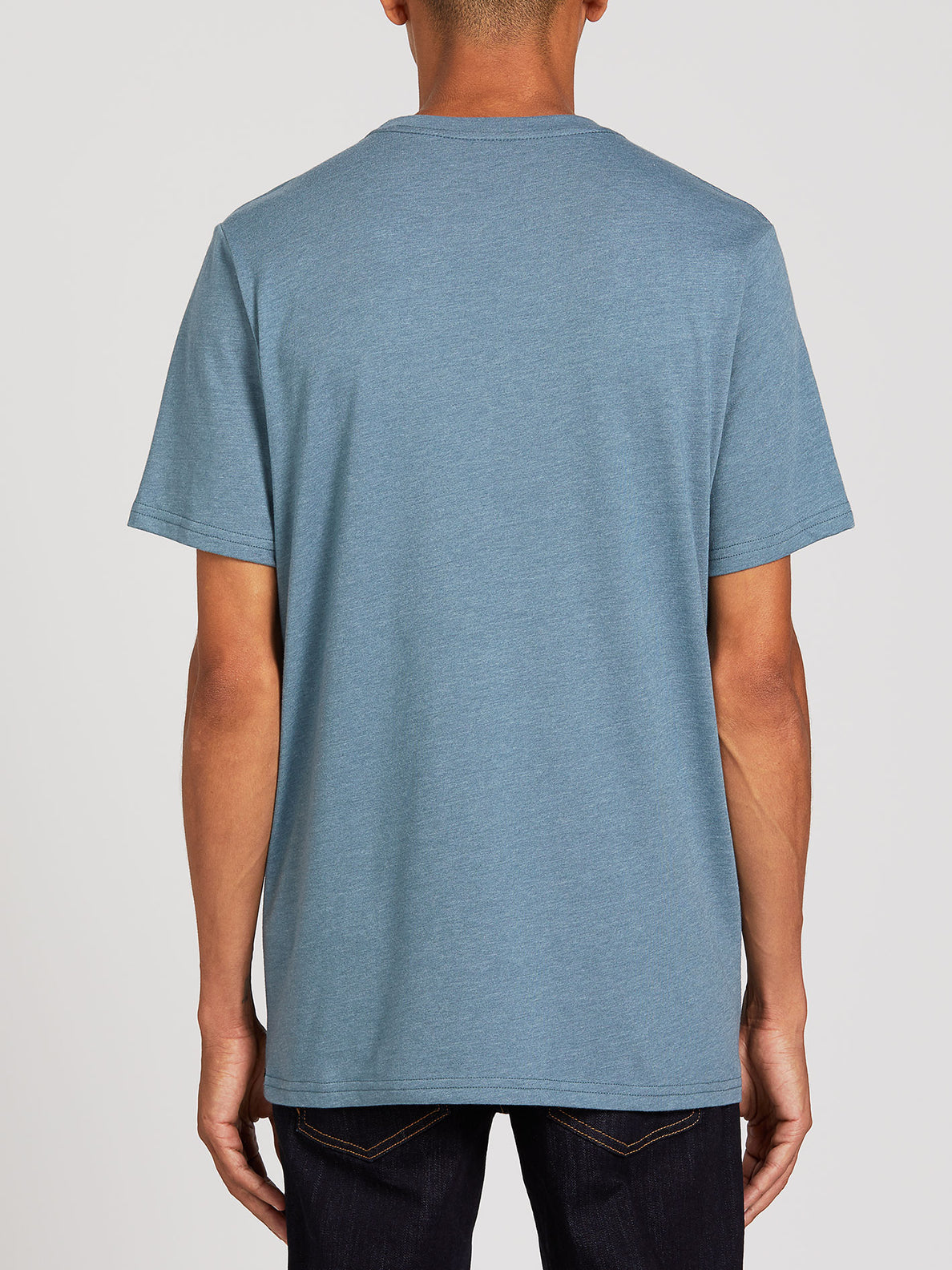 Position Short Sleeve Tee - Stormy Blue (A5722000_STB) [B]