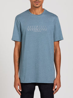 Position Short Sleeve Tee - Stormy Blue (A5722000_STB) [F]