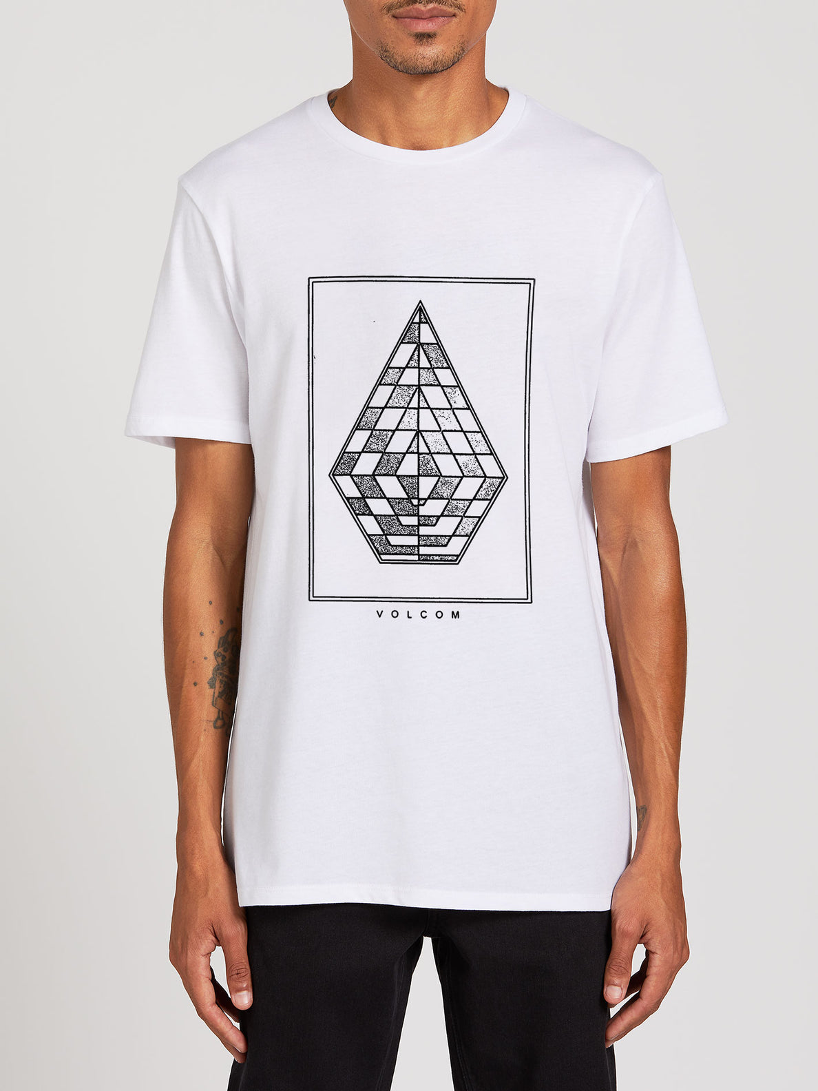 Expel Short Sleeve Tee - White (A5722001_WHT) [F]
