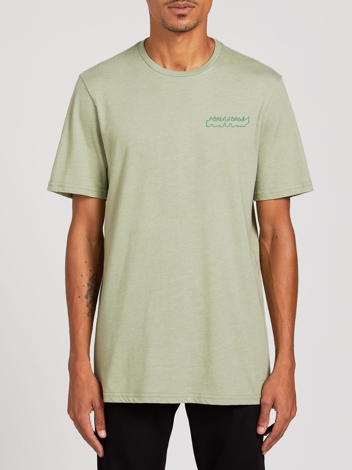 Automate Short Sleeve Tee - Seagrass Green (A5722003_SGR) [F]