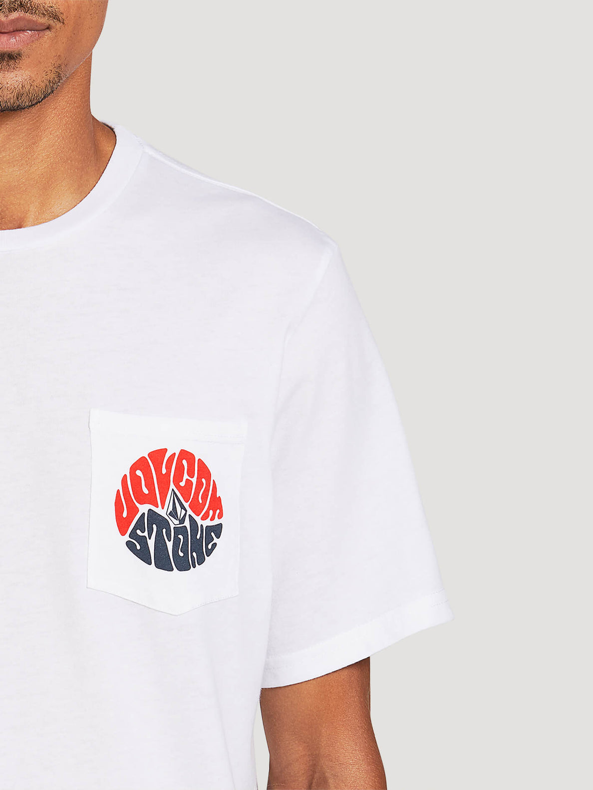 Raydiate Short Sleeve Pocket Tee - White (A5722007_WHT) [1]