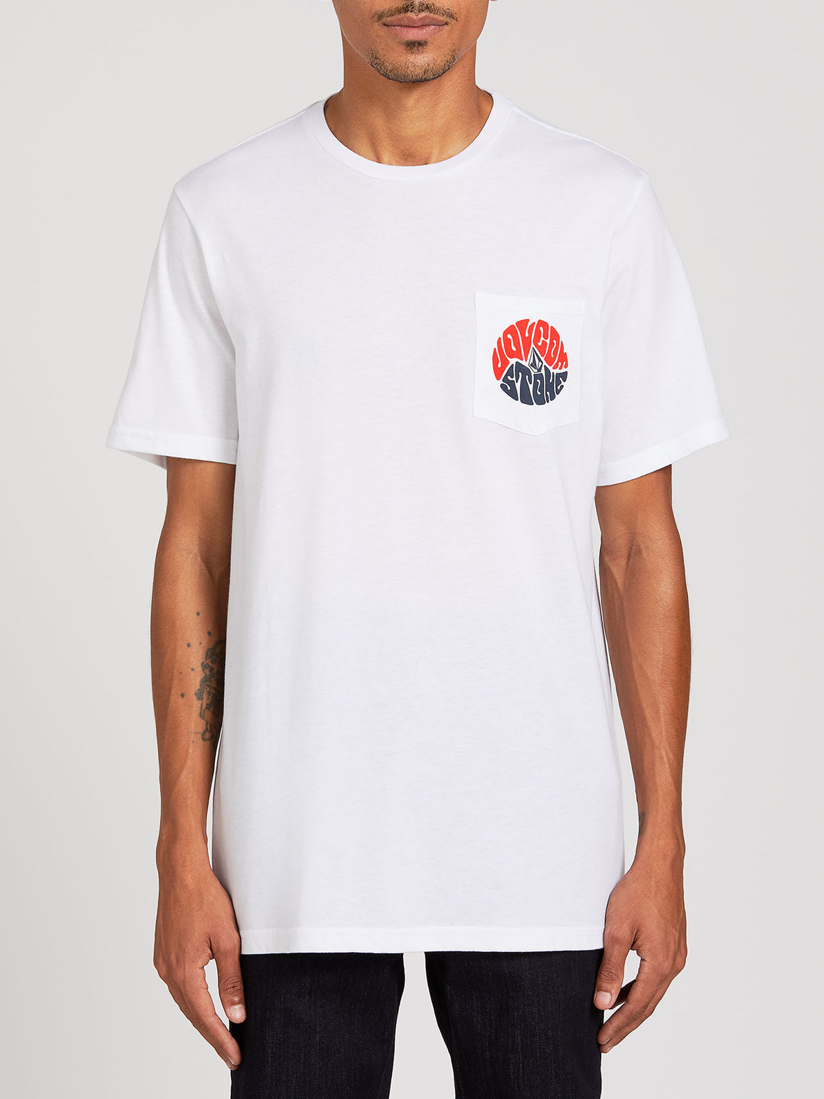 Raydiate Short Sleeve Pocket Tee - White (A5722007_WHT) [F]