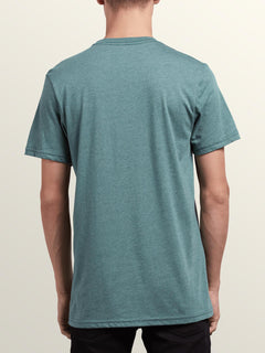 Collide Short Sleeve Tee In Pine, Back View