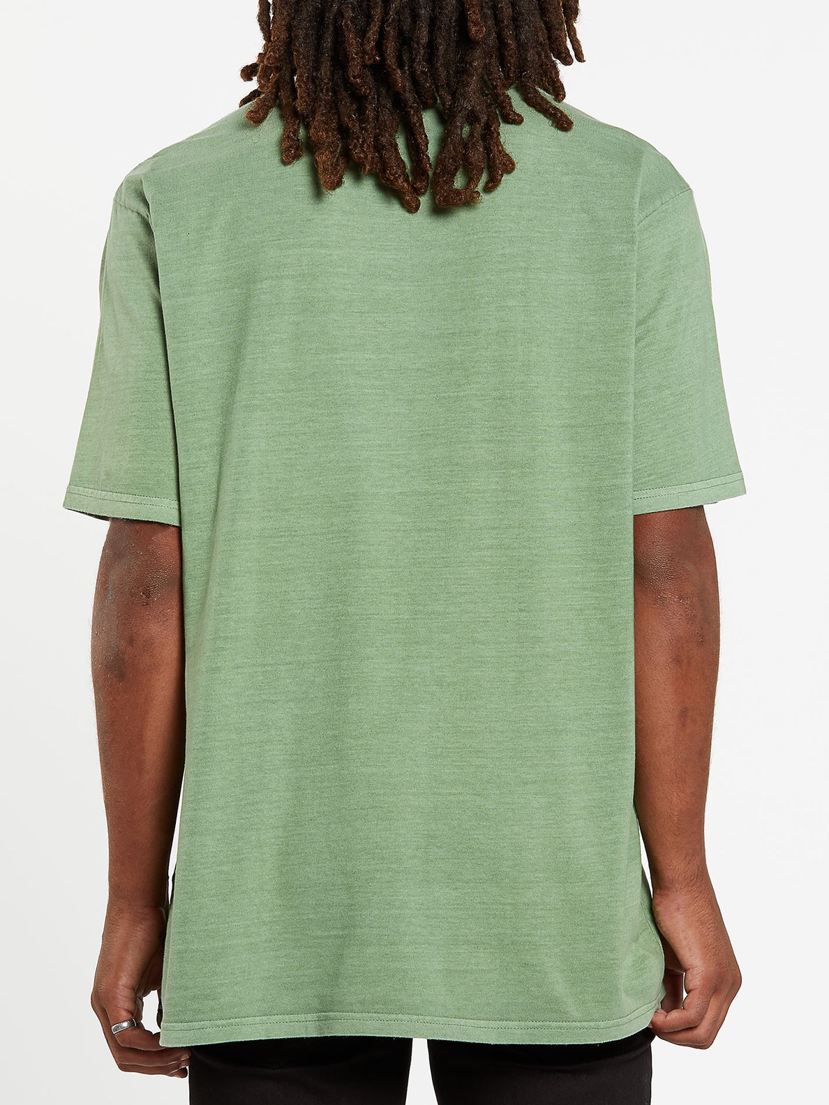 Center Stone Short Sleeve Tee - Cactus Green (A5732000_CAC) [B]