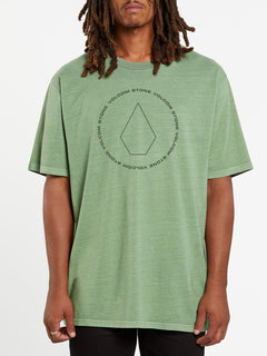 Center Stone Short Sleeve Tee - Cactus Green (A5732000_CAC) [F]