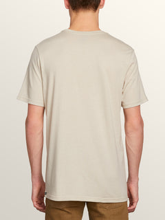 Path To Freedom Short Sleeve Tee In Oatmeal, Back View