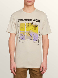 Path To Freedom Short Sleeve Tee In Oatmeal, Front View