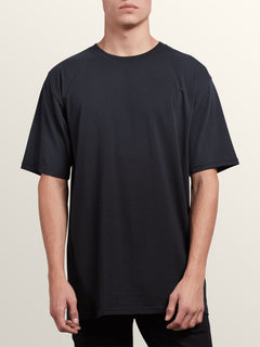 3 Pack Solid Short Sleeve Tees In Black, Alternate View