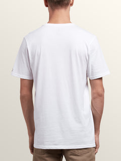 3 Pack Solid Short Sleeve Tees In White, Second Alternate View