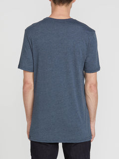 Fused Short Sleeve Tee - Navy (A5741911_NVY) [B]