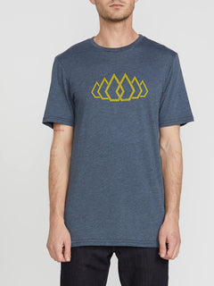 Fused Short Sleeve Tee - Navy (A5741911_NVY) [F]
