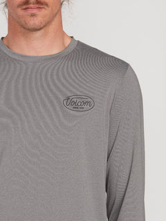 Lit Long Sleeve UPF 50 Rashguard - Grey (A9312001_GRY) [1]
