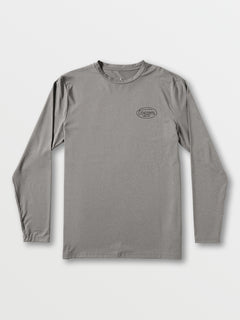Lit Long Sleeve UPF 50 Rashguard - Grey (A9312001_GRY) [F]
