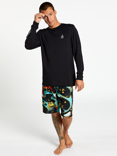 More Of Us Long Sleeve UPF 50 Rashguard - Black