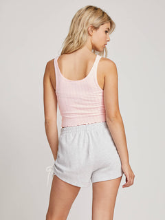 Lived In Lounge Tank In Blush Pink, Back View