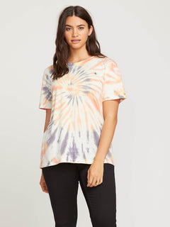 Zipn N Tripn Short Sleeve Tee In Multi, Front Extended Size View