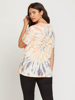 Zipn N Tripn Short Sleeve Tee In Multi, Back Extended Size View