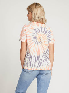 Zipn N Tripn Short Sleeve Tee In Multi, Back View