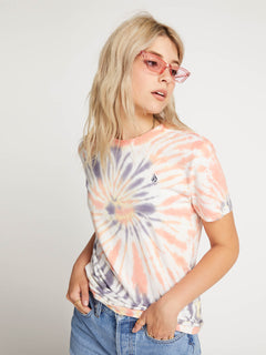 Zipn N Tripn Short Sleeve Tee In Multi, Front View