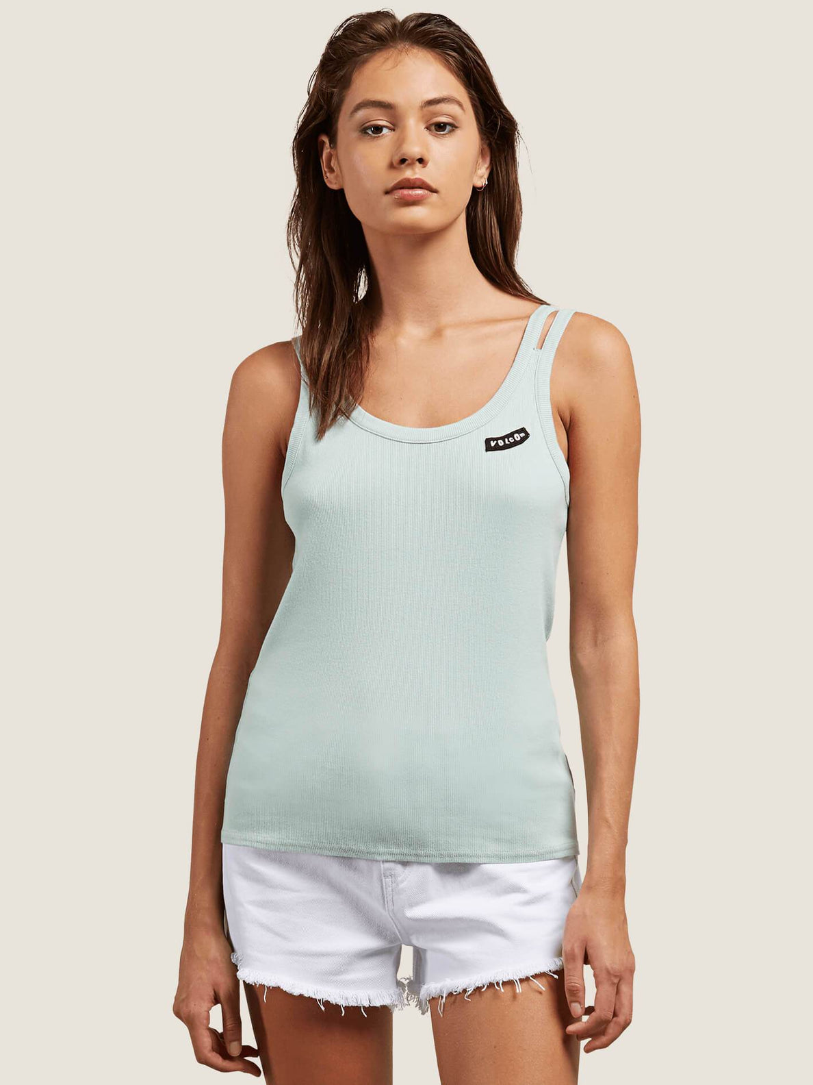 Cactus Ridge Tank In Mint, Front View
