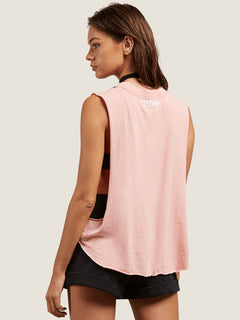 Magnetic Feels Tank In Coral Haze, Back View