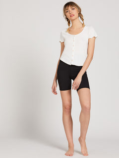 Lived In Lounge Short Sleeve - Star White (B0122001_SWH) [23]