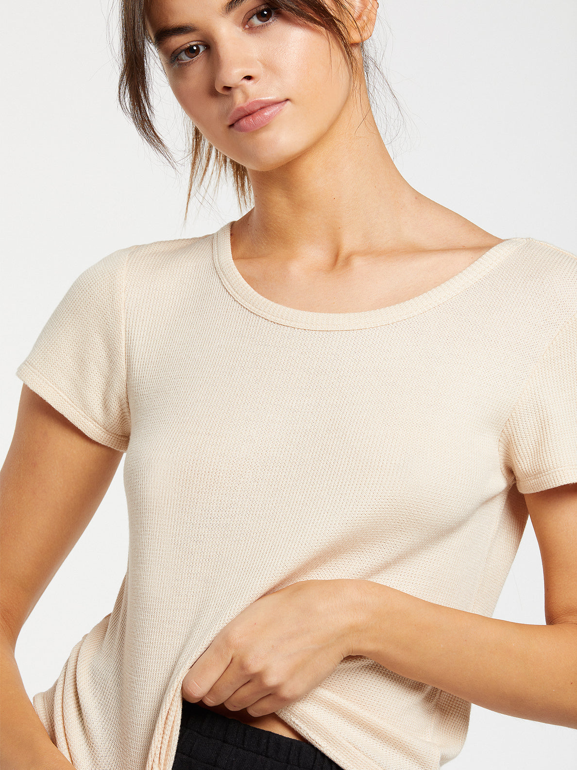 Lived In Lounge Thermal Short Sleeve - Sand (B0132000_SAN) [19]