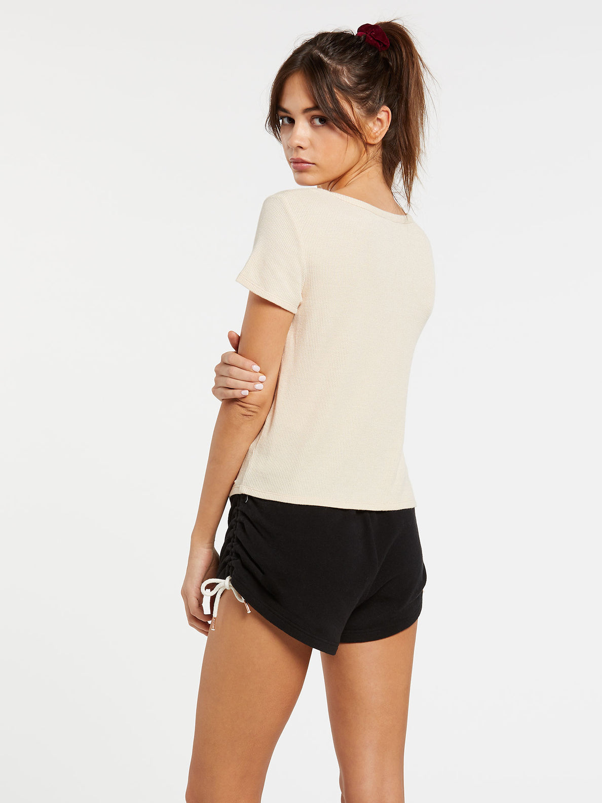 Lived In Lounge Thermal Short Sleeve - Sand (B0132000_SAN) [B]