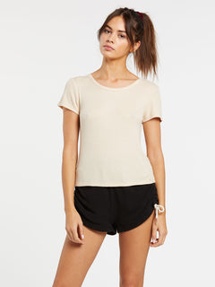 Lived In Lounge Thermal Short Sleeve - Sand (B0132000_SAN) [F]