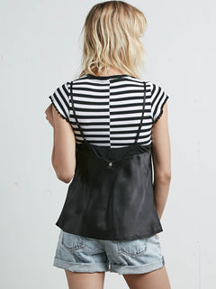It's Happening Cami In Black, Back View